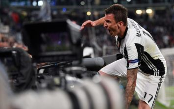 WATCH: Mario Mandzukic has just scored one of the best goals you're likely to see
