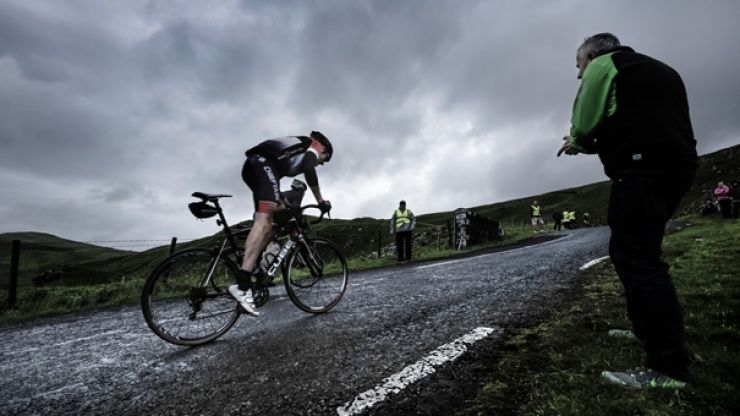We've found what must be Ireland's toughest cycling route
