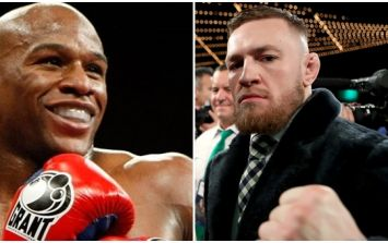 It sure looks like Conor McGregor v Floyd Mayweather has a date and venue