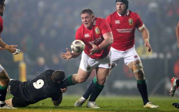 Leinster's new signing gives Tadhg Furlong rugby lesson but Johnny Sexton gets revenge