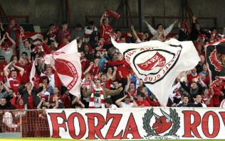 Sligo Rovers' gesture to the county's football supporters shows a county at unity with itself