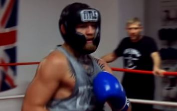 Man who cruelly leaked sparring footage changes his tune about Conor McGregor