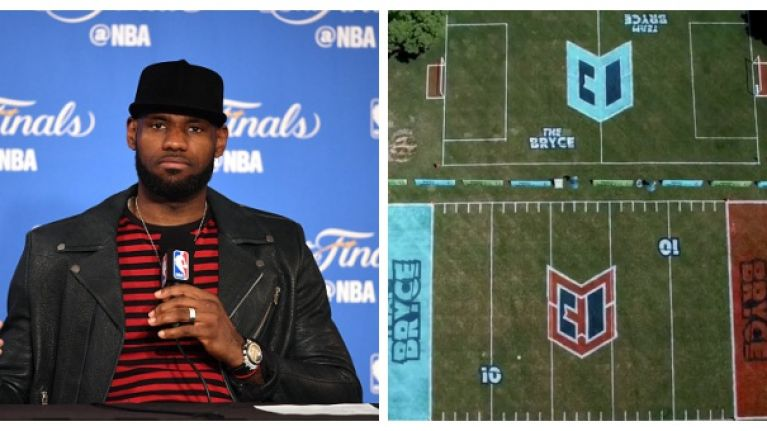 LeBron James' son had a birthday party and it is the stuff of dreams