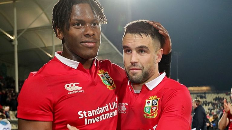 Warren Gatland reveals Conor Murray played through an all too common rugby injury