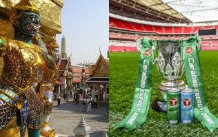 Confused football fans react to the news that the League Cup draw is to be held in Bangkok