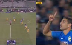 Brazil scored after 12 seconds in a friendly against Australia