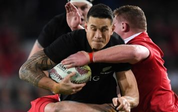 Sonny Bill Williams strips off to once more provide priceless mementoes to rugby fans