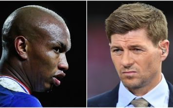 El-Hadji Diouf has taken another dig at Steven Gerrard