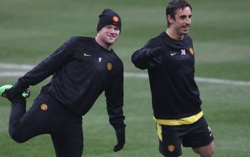 Gary Neville is surprised about the Wayne Rooney situation at Manchester United