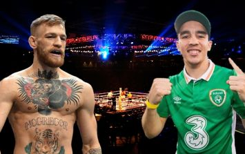 Michael Conlan makes perfectly reasonable request for McGregor-Mayweather fight