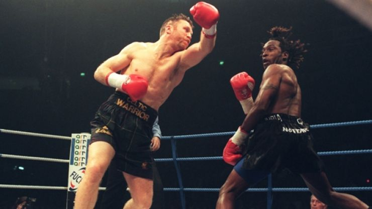 Nigel Benn and Steve Collins are legitimately going to fight again, 21 years since last meeting