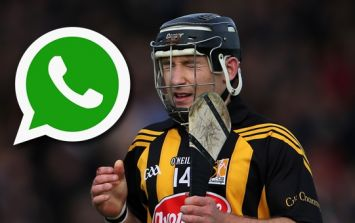 Richie Hogan confronted with WhatsApp voice messages he left Colm Parkinson