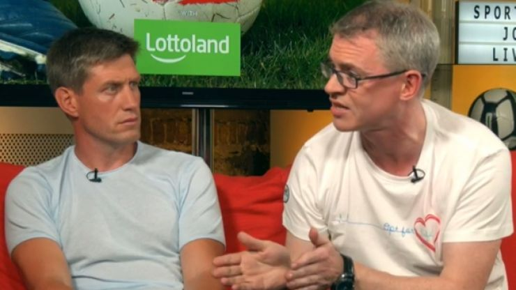 The Joe Brolly and Colm Parkinson argument that everyone's talking about