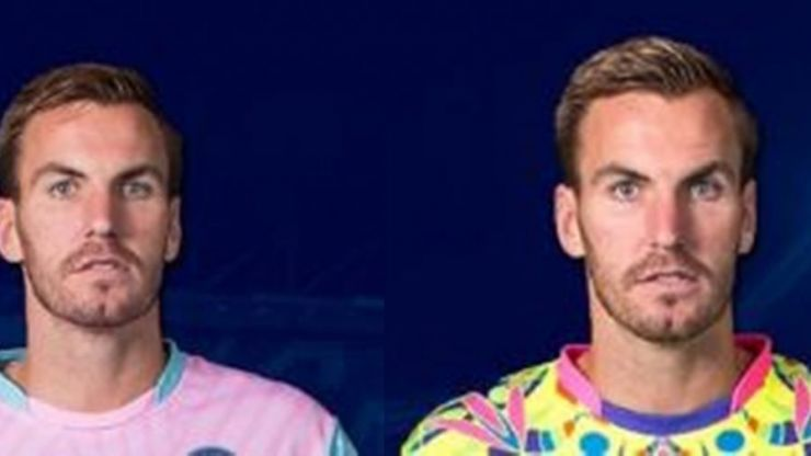 Facial expression tells you everything you need to know about Wycombe Wanderers' new jerseys