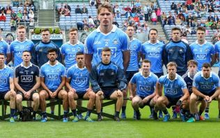 How to make yourself look massive for a GAA team photo