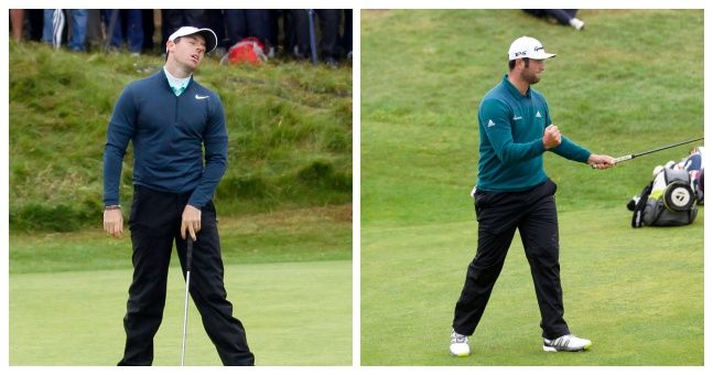 Ireland has witnessed golf's top star even in the absence of Rory McIlroy's form