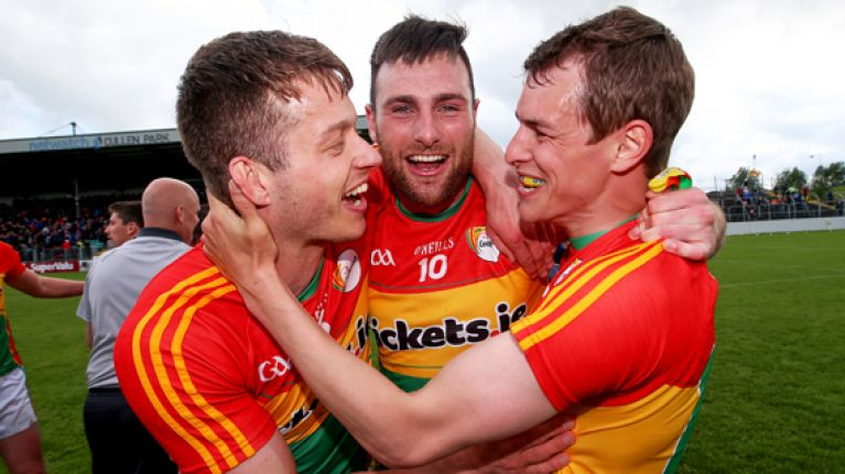 Carlow recovering from remarkable run in most rural way imaginable