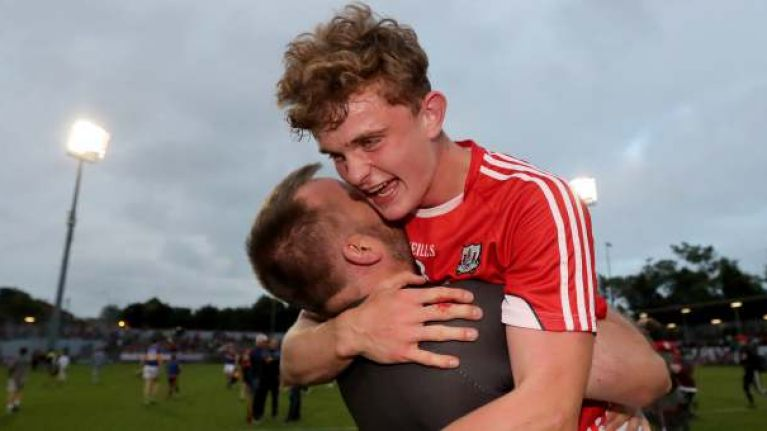 The jubilant scenes in Páirc Uí Rinn after minor triumph were great to see