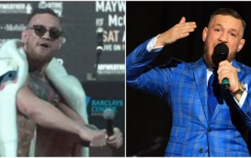 There's no doubt Floyd Mayweather has got under Conor McGregor's thin skin