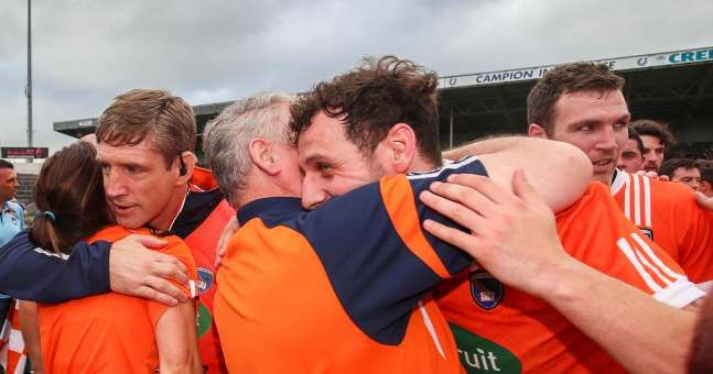 What Armagh team did to Tipperary after game was so, so classy