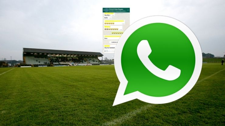 Meath man means to text girlfriend... sends it to GAA WhatsApp group instead