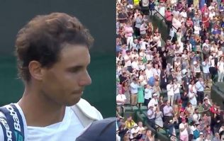 Rafael Nadal's reaction to defeat brings stunning ovation from Wimbledon crowd