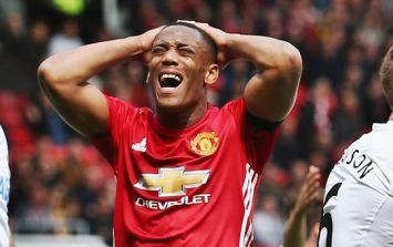 Anthony Martial reportedly wanted to join Arsenal in January