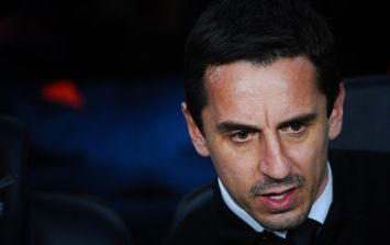 Jesus, Gary Neville, tell us how you really feel about Arsenal