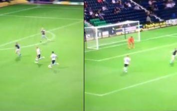 Sean Maguire scores absolute cracker 20 minutes into Preston debut