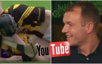 Kilkenny man fails to recognise Lar Corbett, makes Lar Corbett watch Youtube video of Lar Corbett being punched