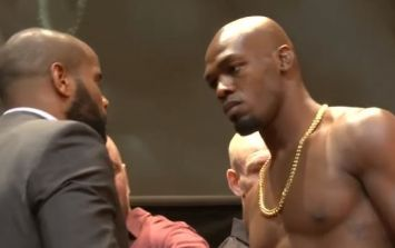 Outrageously shredded Jon Jones in shape of his life for Daniel Cormier rematch