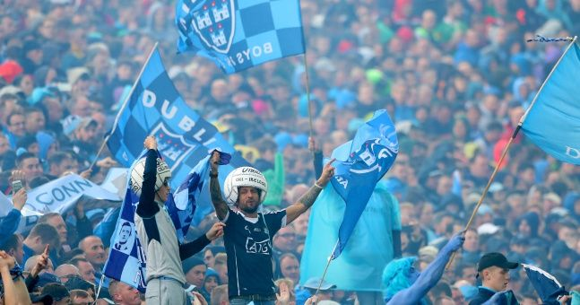 Can you name the Dublin starting XV against Mayo in the 2016 All-Ireland final