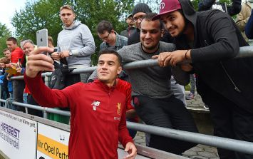 Philippe Coutinho starts for Liverpool against Hertha Berlin this evening