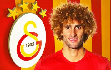 BREAKING: Marouane Fellaini signs five year deal with Galatasaray