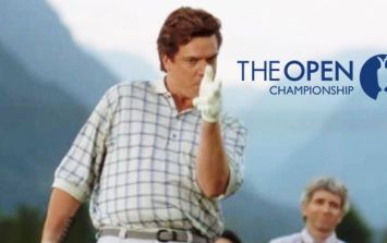 American golfer at The Open has a name to surely rival Shooter McGavin