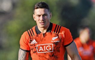 Sonny Bill Williams' leg burning routine is the most intense thing we've ever heard