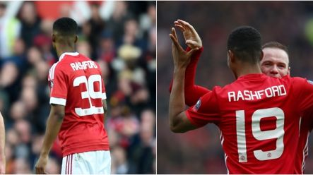 sneakers for cheap 158b4 51cc9 Marcus Rashford's reason for wearing number 19 is the ...