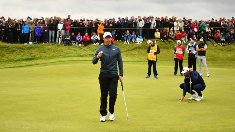 Rory McIlroy is causing quite a stir at Royal Birkdale and people are getting excited