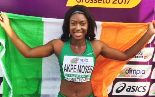 Ireland has a new sprint superstar as Gina Akpe-Moses claims European Championships gold