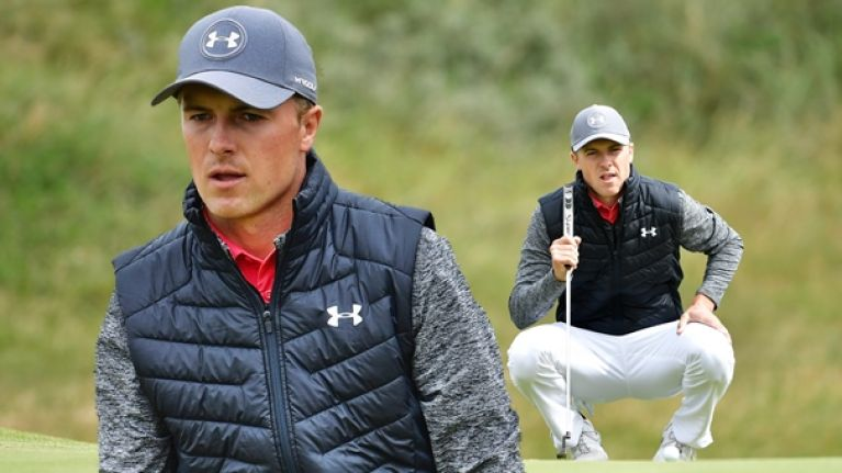Jordan Spieth's attitude to leading The Open would just piss you off