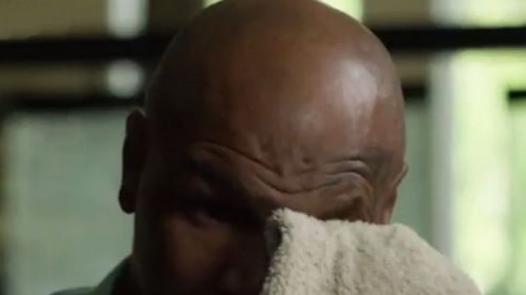Mike Tyson being brought to tears is a legitimately tough watch
