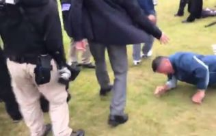 All he wanted was a high five from Jordan Spieth...