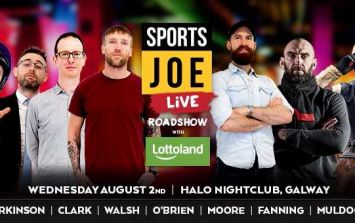 Connacht legend added to SportsJOE Live line-up in Galway on Wednesday