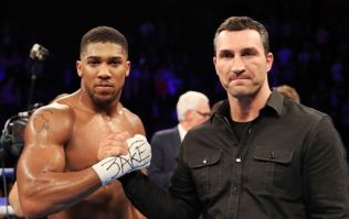 Wladimir Klitschko's message to Anthony Joshua is a credit to the sport of boxing