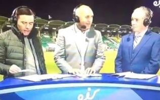 Brian Kerr absolutely impervious to presenter's very unfortunate slip of the tongue