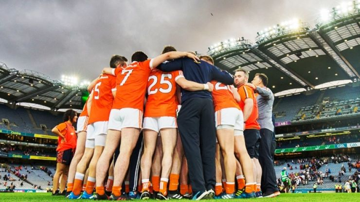 Referee's footwear during Armagh's victory shouldn't be allowed