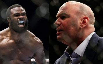 How Dana White and Tyron Woodley resolved their beef sounded very intense