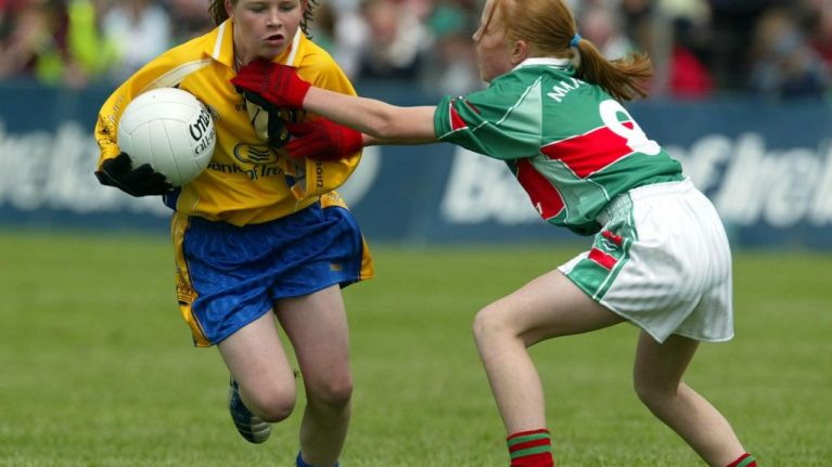 Girls who play sport are happier and more confident, according to new report