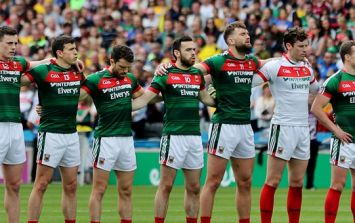 Mayo make single change to team for Kildare, and it's a big one