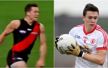 Former Tyrone minor star lights up AFL with stunning score on the run